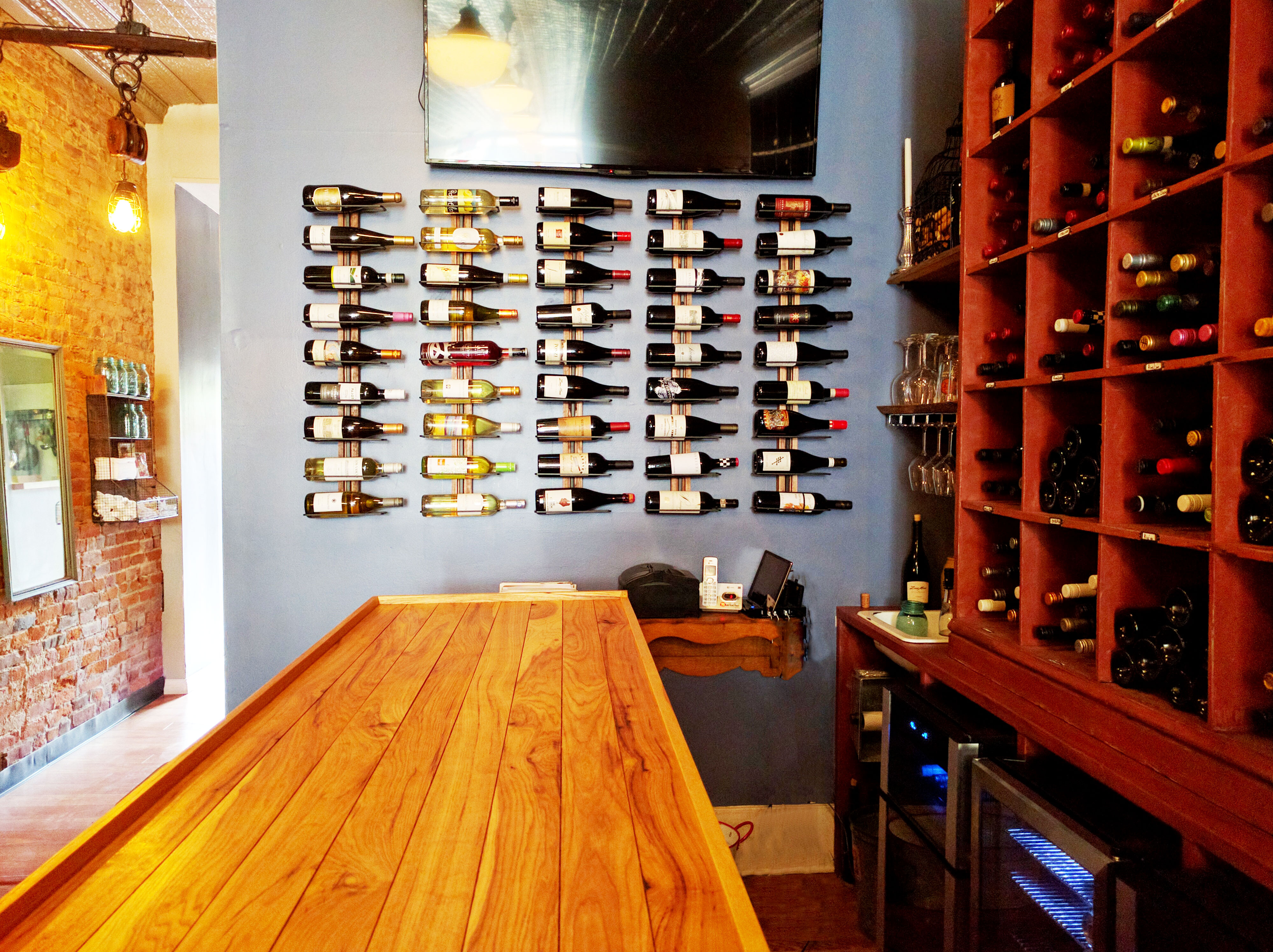 ... warm with a nice breeze during the day fresh and intimate during the evening the patio is perfect for a great time with delicious wines and food. & Cellar 422 Wine Bar u2013 Wine by the Glass and Beer in Lafayette IN